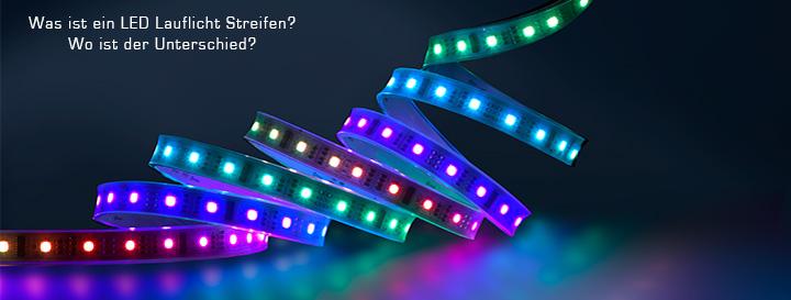 LED Lauflicht Strip Erklärung